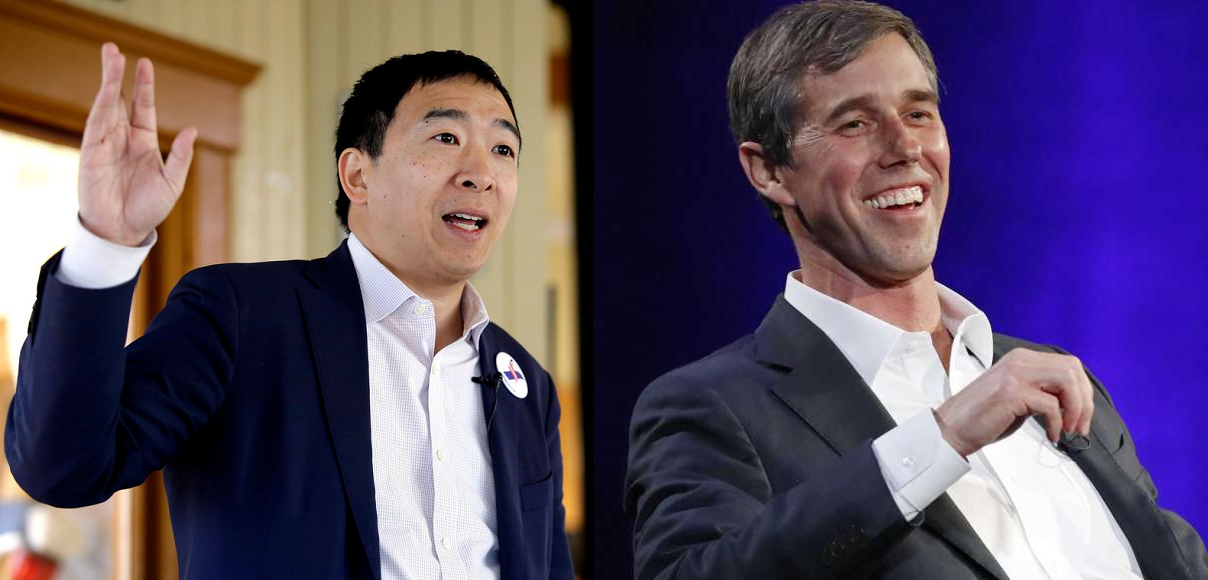 Are Beto O'Rourke and Andrew Yang Really Presidential Material?